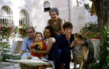 Elad with family in Jerusalem