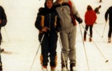 Started skiing