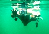 Snorkelling in Panama