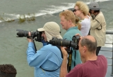 Photography enthusiasts on the Li River