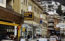 Main Street in Davos