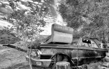 Junkyard on highway 18