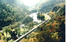 Fall in Agawa Canyon