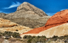 Red rock canyon's 3  colors