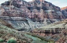 Colorado river at grand canyon