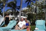 Sheldon and Marie in Hawaii