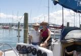 Sailing in Sidney Harbor
