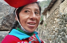 A Peruvian Woman with a Hat