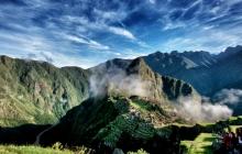 Amazinfg skies over MachuPicchu