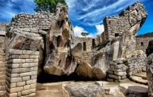 A sacred temple in MachuPicchu