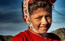 A girl from Cusco