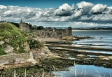 St. Andrews Castle and coast line