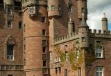 Glamis Castle Front Yard