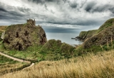 Dannottar Castle and Loch_DSC_8302