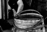 Barrel reconstruction at Glenfiddich