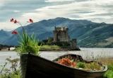 Backyard of Eilean Donan Castle