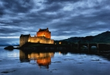 Night Reflections at Eilean Donan Castle
