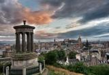 Amazing skies over Edinburgh