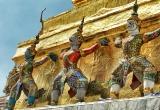 12 Emerald Budha court guard DSC_8607