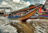 20 Passenger boat, Bangkok canal DSC_8826