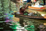 28 Corn merchant, floating market, Thailand DSC_9008