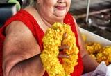 30 Happy merchant, flower market, Thailand_DSC3009