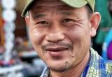 32 Merchant, flower market, Thailand_DSC3042