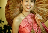 84 A Thai model with Umbrella  DSC4385