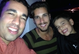 3 Dotan Elad and Asher  at Miami Beach restaurant IMG_2371