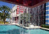 77 Pool waterfall at Miami Hotel IMG_2441