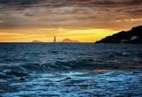 100 Sunset at Ammoudi beach Oia DSC_0678