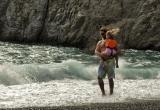 104 father and daughter in Kamari beach_DSC9570