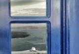 108 Blue window reflection of the sea DSC_0722
