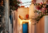 35 A street in Pyrgos lit in sunrise_DSC8411_