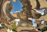38 Reflective monument Jaffa Gate Jerusalem_DSC7637