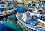 77 Monolithos fishing boats at bay DSC_0455