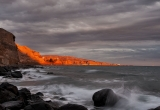 89 Red rocks at sunset Akrotiri_DSC9448
