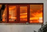 9 Sunset reflection in Fira_DSC8103