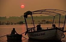 30 Ganges sunrise Varanasi DSC0532
