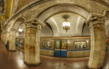 12f. Subway station fisheye
