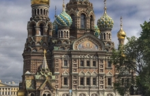 13. Church of the savior on spilled blood St. Petersburg